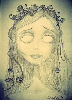 #corpsebride #timburton #drawing