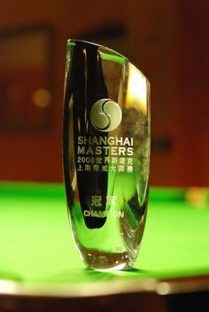 masters snooker trophy