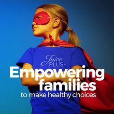 Juice Plus+ designed this wellness initiative to inspire healthy living at home and empower families to make simple, but meaningful, lifestyle changes that will propel them forward on their journey to better health.