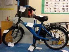 Onderdelen fiets benoemen