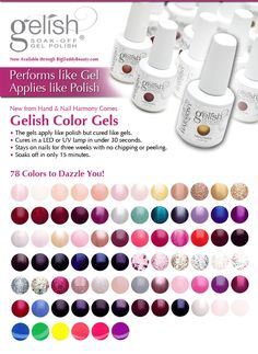 Gel Nail Polish | Gel Nails | Gel Nail Manicures