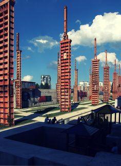 @Turin/ Industrial ruines