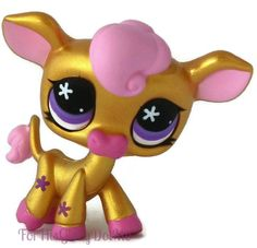 LITTLEST PET SHOP✵Gold✵Sparkle✵NEW Year Chinese Cow Ox✵Golden Special Edition