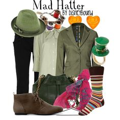 Tim Burton's Mad Hatter, created by lalakay on Polyvore