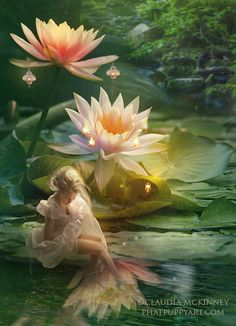 Little Flower by =Phatpuppyart  Digital Art / Photomanipulation /