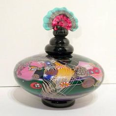 Hand Blown Art Glass by Wes Hunting