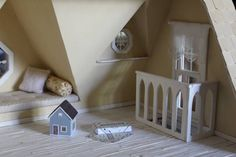 staircase rail - Orchid - 1st dollhouse! - Gallery - The Greenleaf Miniature Community