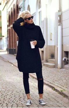 Loving the comfy-chic style.!!