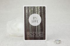 It's Love Large Save the Date Magnet | MagnetStreet