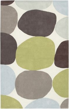 color palette? gray, blue, green, add some brown...i want this rug