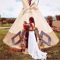Fresh off our instagram feed: Tipi Lovin' ✌️️ . . . . #tipi #camping #glamping #wedding #weddingdress #lace #flowers #bouquet #realwedding #weddingphoto #photo #photography #bohobride #bohostyle #boho #bohemian #bohemianstyle #bohemianwedding #barefootbride #uniquebride #bridetribe #decor #unforgettable #lace #outdoorwedding #outdoorslace,bohemianwedding,glamping,bouquet,photo,photography,bohemianstyle,outdoorwedding,bohostyle,barefootbride,realwedding,wedding,flowers,unforgettable,tip...