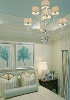 Painting ideas. great color scheme and idea for accents