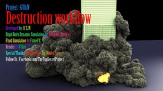 Destruction workflow Research and Development in PROJECT: GUAN on Vimeo