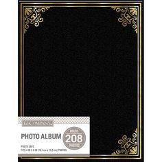 K&Company 2 Up Basic Photo Album Black