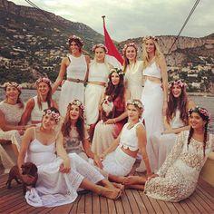 La despedida de soltera de Tatiana Santo Domingo #boda #famosos