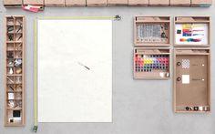 Photoshop version papier & carton. @Diane Barragan, @Purple Bambi, @Mylène Krt, @Cécile Lorrain.