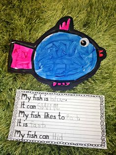 O fish ally back to school writing and art