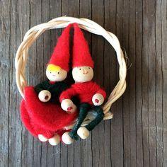 Scandanivian Christmas Ornament by JustSmashingDarling on Etsy