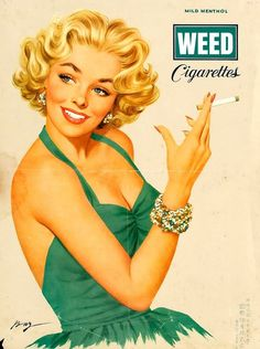 vintage marijuana ads - Google Search