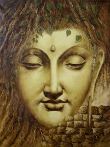 Buddha Painting, Buddha Art, Zen Meditation, Online Art Gallery, Art Supplies, Gratitude, Modern Art, Sketches, Spirit