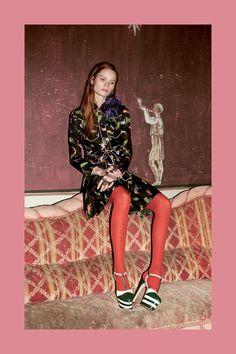 Middi Dress Gucci Prefall 2016