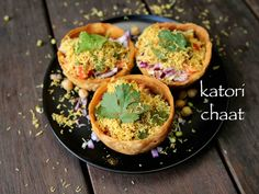 katori chaat recipe, chaat katori recipe, how to make tokri chaat with step by step photo/video. unique street food of india from the chaat recipes palette. Puri Recipes, Paratha Recipes, Veg Recipes, Spicy Recipes, Kitchen Recipes, Appetizer Recipes, Vegetarian Recipes, Party Appetizers, Popular Appetizers