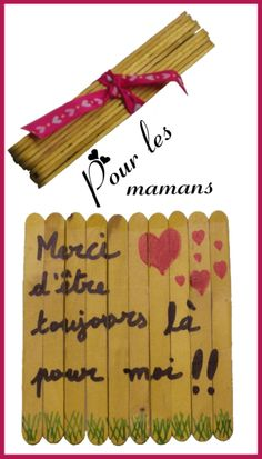 Une carte surprenante et originale à fabriquer avec les enfants pour la fête des mamans !!