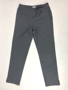 Brunello Cucinelli Womens sz 6 Wool Cropped pants slacks Made in ITALY EUC #BrunelloCucinelli #CaprisCropped