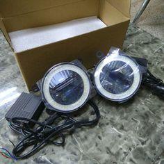 3in1 Highlight LED Chip Of LED Angel Eyes   LED Daytime Running Light   LED Fog Lamp For Ford Fiesta 2009 2012 2014 2015 drl