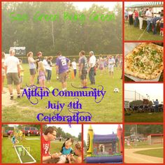 Save Green Being Green: Wordless Wednesday: Aitkin Community July 4th Celebration