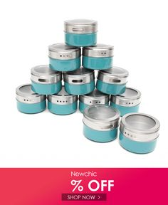 Magnetic Spice Tins Stainless Steel Storage Container Jars Clear Lid BBQ Seasoning is fashionable and cheap, come to NewChic to see more trendy Magnetic Spice Tins Stainless Steel Storage Container Jars Clear Lid BBQ Seasoning online. Steel Storage Containers, Magnetic Spice Tins, Bbq Seasoning, Cooking Equipment, Plastic Animals, Kitchen Tools And Gadgets, Bottles And Jars, Magnets, Spices