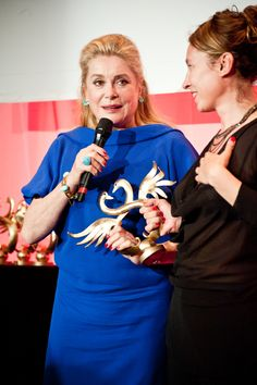 Catherine Deneuve came to Cabourg for her rôle in Elle S'en Va by Emmanuelle Bercot