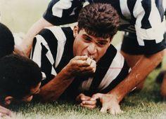 Túlio Maravilha 1995 #Botafogo #CampeaoBrasileiro #ComendoGrama