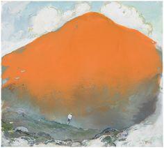 Tuomo Saali, Wanderer, oil on canvas, 2017 50x50cm