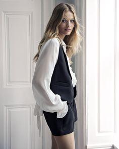 Edita Vilkeviciute Models Express' Luxe 'Edition' Collection