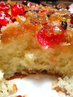Holiday Upside Down Cake.