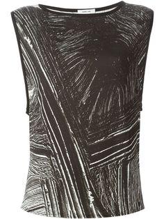 #helmutlang #tops #tshirts #prints #womens #blackandwhite #womensfashion www.jofre.eu