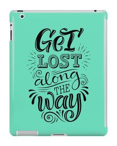 Our Get Lost Along The Way iPad Case is available online now for just £9.99.    Check out our super cute Get Lost Along The Way iPad case, available for iPad, iPad Mini & iPad Air    Material: Plastic, Production Method: Printed, Weight: 28g, Thickness: 12mm, Colour Sides: Clear, Compatible With: iPad 2   iPad 3   iPad 4   iPad Air   iPad Mini   iPad Mini 2, Features: Slim fitting one-piece clip-on case that allows full access to all device ports. This iPad case is extremely durable, shatter