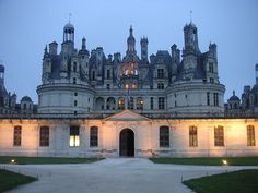 Chateaux Chambord - 89 staircases in this castle.  the one in the middle (under the center spire) is a double helix staircase so that King Louix XIV could see who was on the stairs with him at all times.