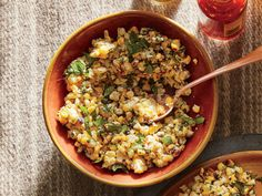 Esquites (Corn Salad) | Today, produce remains at the heart of Mexican cuisine. The combination of fresh vegetables, chiles, nuts, and seeds lend authentic flavor to Mexican food.