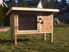 Rabbit Cage Plans | Rabbit Hutch Plan 1 | eBay
