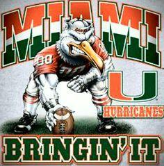 Miami Hurricanes Bringin' It