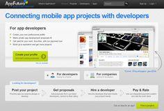 AppFutura – uniendo desarrolladores de aplicaciones móviles con empresas