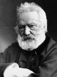 Victor Hugo, author of Les Misérables and The Hunchback of Notre-Dame