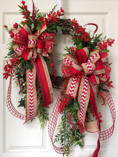 Grapevine Wreath Wreath Red Neutral Grapevine by WilliamsFloral