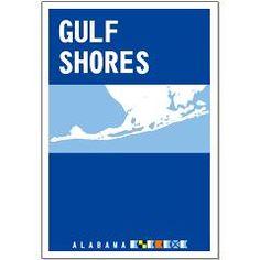 Gulf Shores - Alabama. Posters