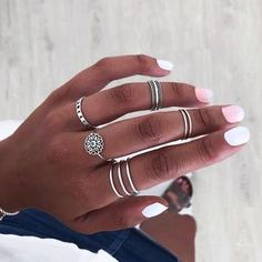 Fashion Crown Shape Round Cubic Zirconia Rings for Women Female Pure 925 Sterling Silver Jewelry Rings Party Decoration - Custom Jewelry Ideas Cute Jewelry, Jewelry Rings, Jewellery, Fashion Rings, Fashion Jewelry, How To Wear Rings, Accesorios Casual, Cubic Zirconia Rings, Silver Accessories