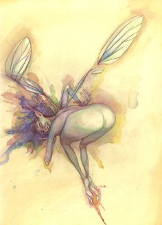 b. froud ...OH to be mooned by a fairy
