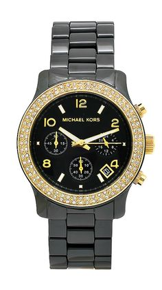 Michael Kors Women's Classic Watch with Sparkle.