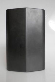 Porcelaine Noire. Nierenvase = Kidney Vase Vase, Contemporary, Vintage, Design, Porcelain Black, Vintage Comics, Vases, Jars